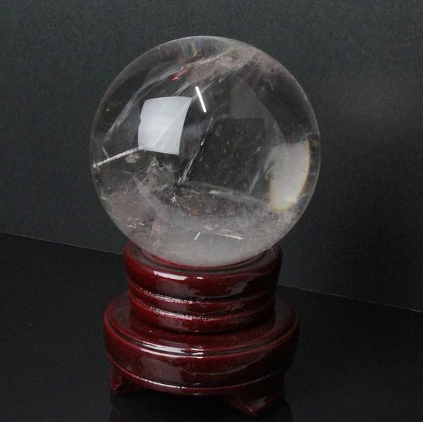 クラック多い水晶玉