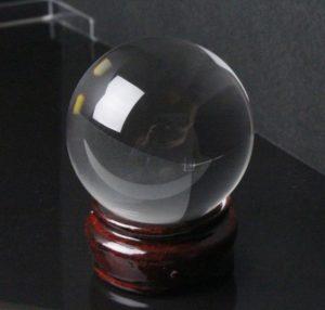完全透明水晶玉